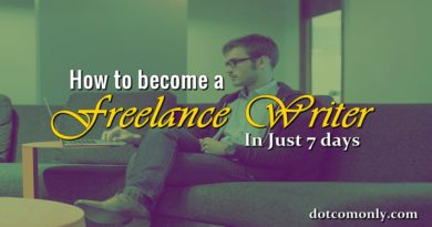 how to become a freelancer writer