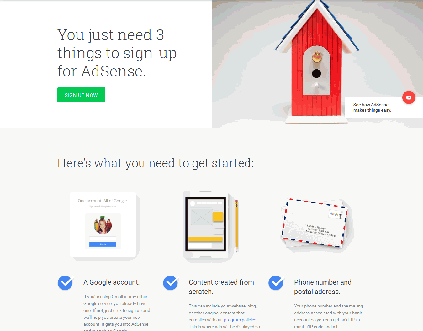 Adsense Case Study: Approved Adsense Account (3 Days/12 Posts)