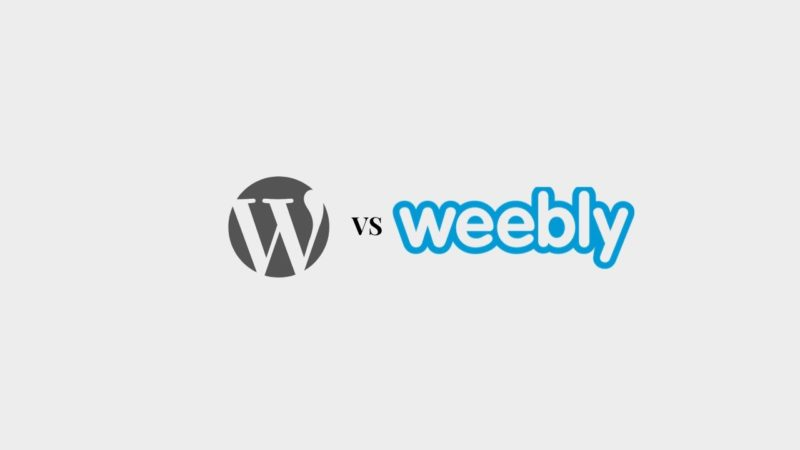 Weebly vs Wordpress