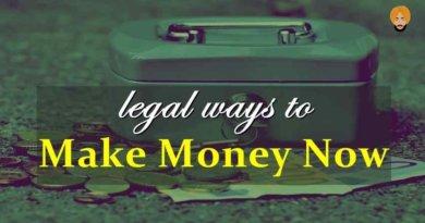 17 Ways to Make Money Now legally