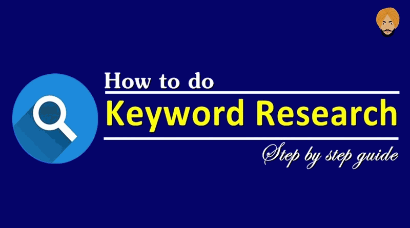 how to do keyword research