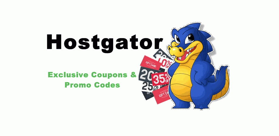 Hostgator coupons, promo codes, discount deals