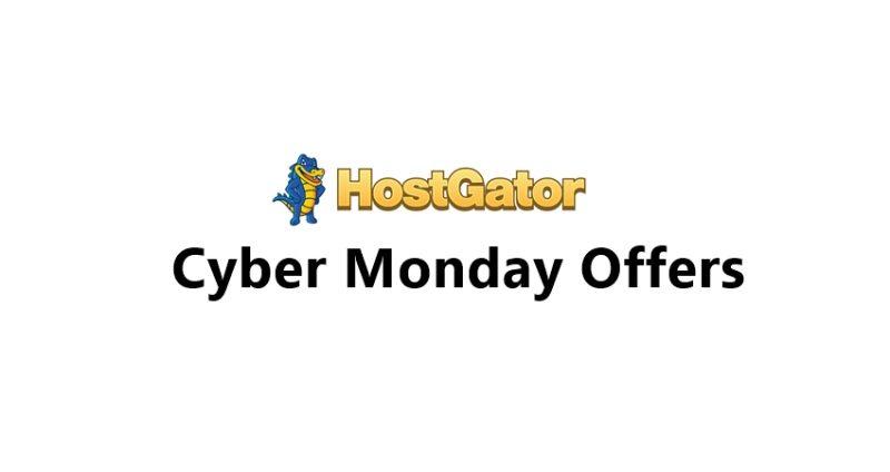 Hostgtor Cyber Monday