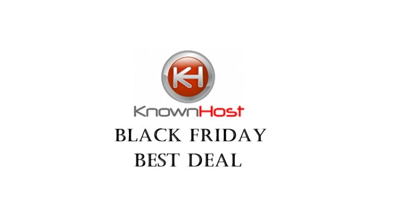 knownhost black friday deal