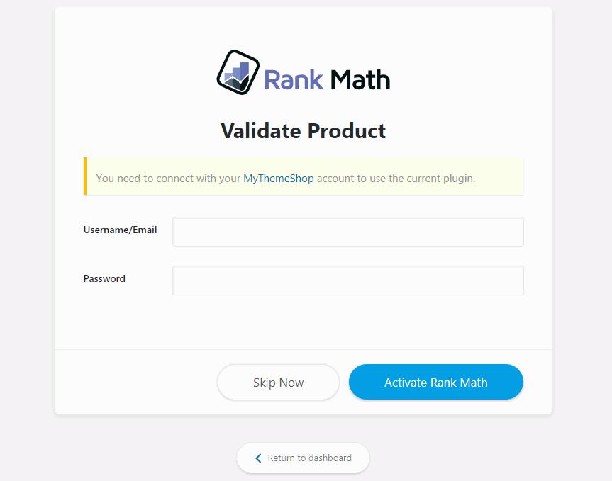 Mythemeshop Rank Math SEO Plugin