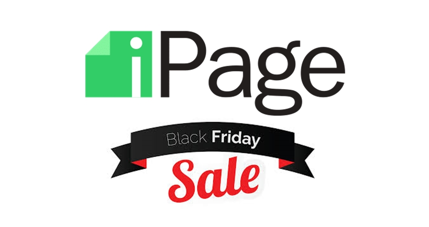 ipage black friday deal
