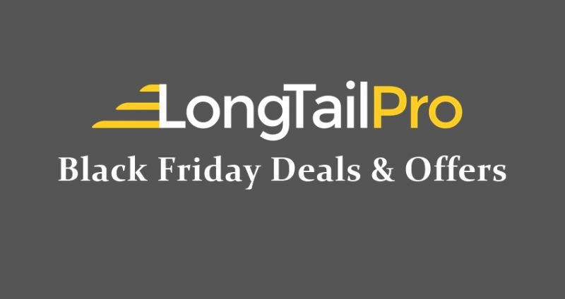 longtailpro black friday