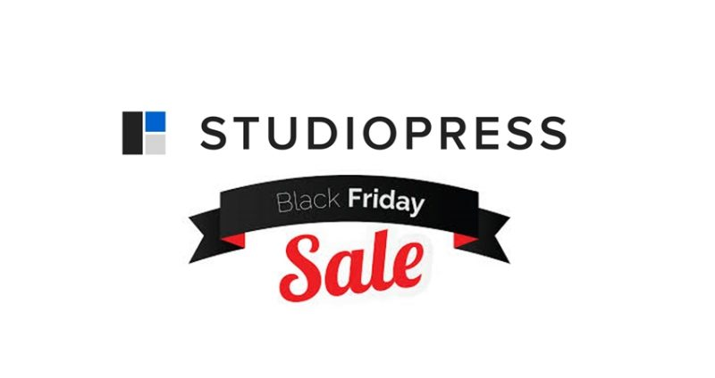 studiopress black friday deal