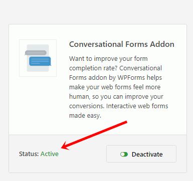 conversational form,create convsersational forms in wordpress
